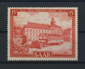 SAARLAND 1954 Nr 349 postfrisch (116175)