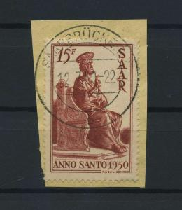 SAARLAND 1950 Nr 294 gestempelt (116199)