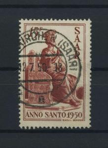 SAARLAND 1950 Nr 294 gestempelt (116201)