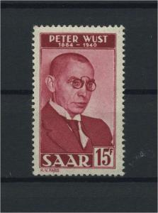 SAARLAND 1950 Nr 290 postfrisch (116217)