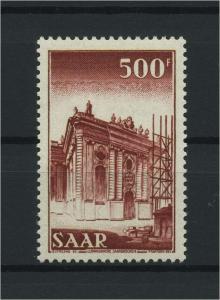 SAARLAND 1953 Nr 337 postfrisch (116229)
