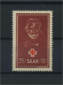 SAARLAND 1950 Nr 292 postfrisch (116234)