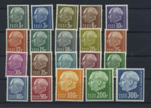 SAARLAND 1957 Nr 409-428 postfrisch (116244)