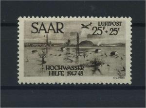 SAARLAND 1954 Nr 259 I siehe Beschreibung (116252)