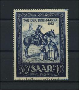 SAARLAND 1952 Nr 316 gestempelt (116292)