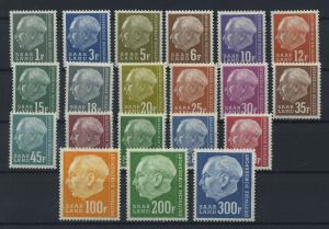 SAARLAND 1957 Nr 409-428 postfrisch (116294)