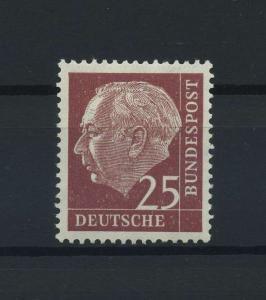 BUND 1954 Nr 186R postfrisch (116745)