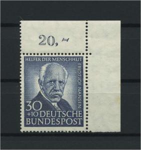 BUND 1953 Nr 176 postfrisch (116764)