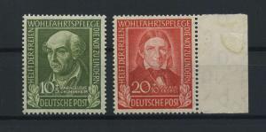 BUND 1949 Nr 118+119 postfrisch (116766)