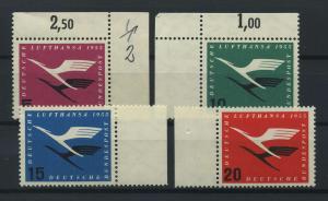 BUND 1955 Nr 205-208 postfrisch (116768)