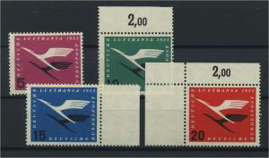 BUND 1955 Nr 205-208 postfrisch (116769)