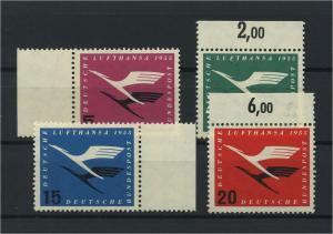 BUND 1955 Nr 205-208 postfrisch (116770)