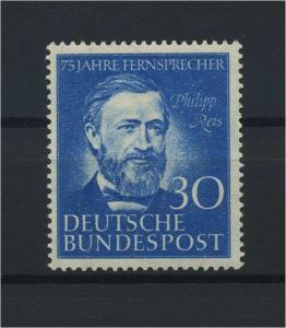 BUND 1952 Nr 161 postfrisch (116772)