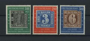 BUND 1949 Nr 113-115 postfrisch (116775)