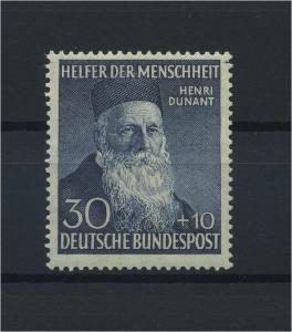 BUND 1952 Nr 159 postfrisch (116779)