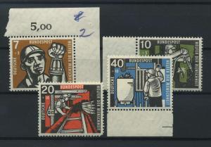 BUND 1957 Nr 270-273 postfrisch (116789)