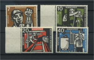 BUND 1957 Nr 270-273 postfrisch (116790)