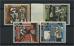 BUND 1957 Nr 270-273 postfrisch (116791)