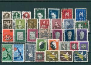 DDR Jahrgang 1957 gestempelt (202391)