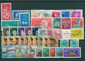 DDR Jahrgang 1959 gestempelt (202393)