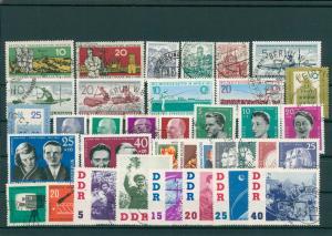 DDR Jahrgang 1961 gestempelt (202395)