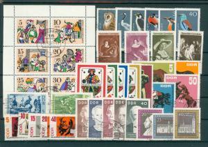 DDR Jahrgang 1967 gestempelt (202401)