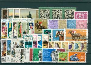 DDR Jahrgang 1974 gestempelt (202408)