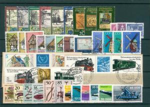 DDR Jahrgang 1981 gestempelt (202415)