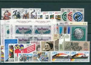DDR Jahrgang 1986 gestempelt (202420)