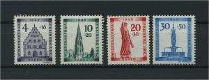 FRZ.ZONE BADEN 1949 Nr 38-41 postfrisch (116956)