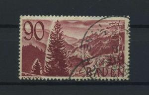 FRZ.ZONE BADEN 1948 Nr 37 gestempelt (116957)