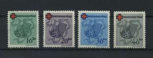 FRZ.ZONE - RH.-PFALZ 1949 Nr 42-45 postfrisch (116959)