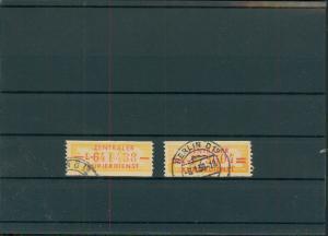 DDR 1958 ZKD Nr 16-17 gestempelt (400000)