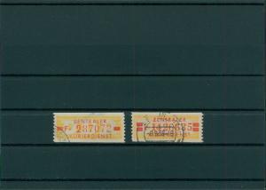 DDR 1958 ZKD Nr 18-19 gestempelt (400001)