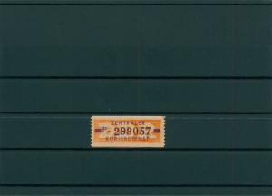DDR 1958 ZKD Nr 22 postfrisch (400003)