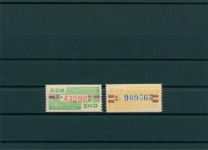 DDR 1959 ZKD Nr 24-25 postfrisch (400004)