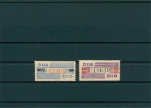 DDR 1960 ZKD Nr III-IV postfrisch (400010)