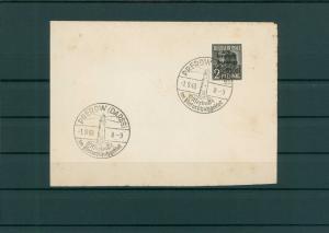 SBZ 1948 SST Beleg PREROW siehe Beschreibung (202565)
