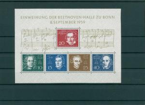 BUND 1959 Bl.2 postfrisch (202622)