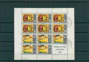 NIEDERLANDE 1966 Bl.3 gestempelt (202633)