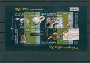 ZYPERN 2007 HBl.10 postfrisch (202637)
