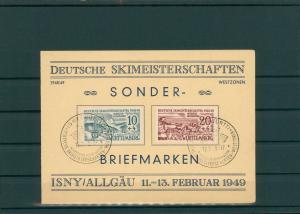 FRZ.ZONE WUERTTEMBERG 1949 Nr 38-39 gestempelt (202647)