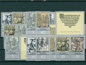 DDR 1975 Nr 2013-2018 postfrisch (202702)