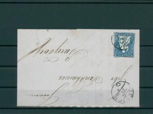 SCHWEIZ 1854 Nr 14II gestempelt (202707)