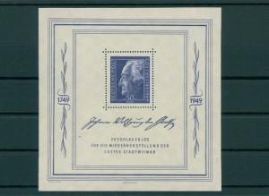SBZ 1949 Bl.6 postfrisch (202714)