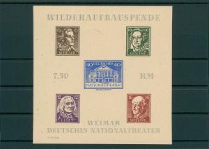 SBZ 1945 Bl.3B postfrisch (202726)