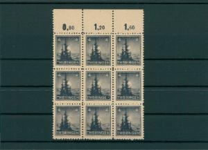 SBZ 1945 Nr 93 III postfrisch (202731)