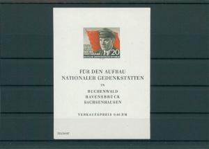 DDR 1956 Bl.14 postfrisch (202736)