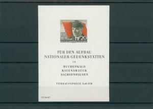 DDR 1956 Bl.14 postfrisch (202737)