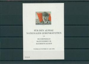 DDR 1956 Bl.14 postfrisch (202738)